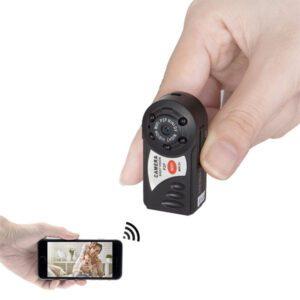 کوچکترین دوربین دنیا وایفا مموری خور دید در شب