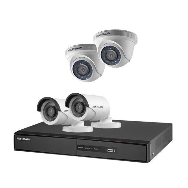 پک ۴ دوربینه هاکویژن کیفیت فول اچ دی hikvision