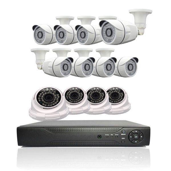 خرید پکیج دوربین مداربسته ۱۲ عدد دوربین