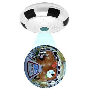 دوربین دایره ای v380 رم خور بیسیم