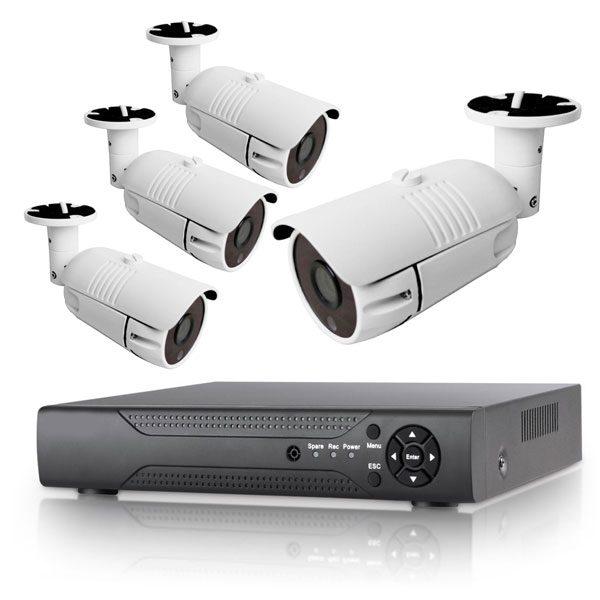 پکیج ۴ عدد دوربین بهمراه دستگاه دی وی آر