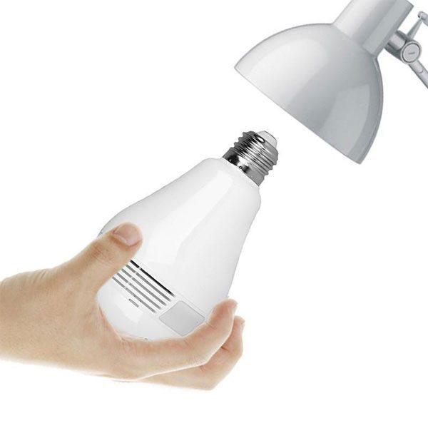 لامپ دوربین دار بیسیم مموری خور