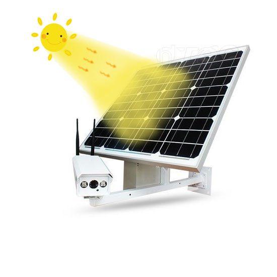 دوربین مداربسته صفحه خورشیدی 4G