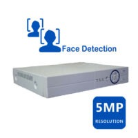 دستگاه دی وی ار ۵ مگاپیکسل ۴ کانال با قابلیت تشخیص چهره برند اس سی اس scs