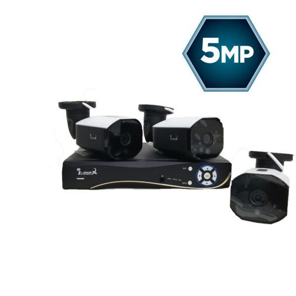 پک سه دوربینه ۵ مگاپیکسل axon